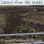 Check your tracks to make sure you are taking the most efficient path to your first barrel.  Less steps=Faster time