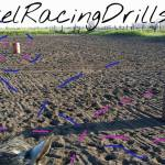 Do several barrel racing drills with this one setup.  http://BarrelRacingDrills.com